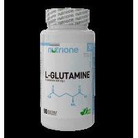 L-Glutamina - 90 Cápsulas Vegetales [Nutrione]