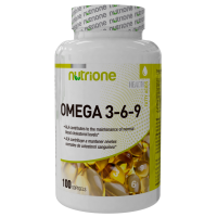 Omega 3-6-9 - 100 softgels - Nutrione