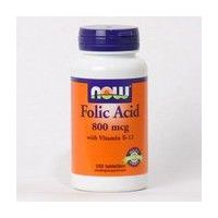 NOW Foods Folic Acid - 250 Tablets (Folic Acid)