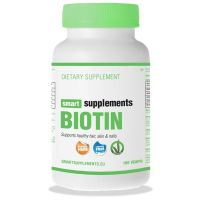 Biotina 5000mcg - 100 cápsulas vegetales [Smart Supplements]