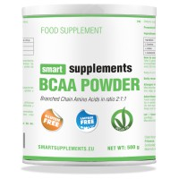 Bcaa powder 2:1:1 vegan ok - Smart Supplements