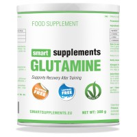 Glutamina Apta para Veganos - 300g - Smart Supplements