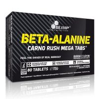 Beta Alanine Carno Rush 80 tabs- Buy Online at MOREmuscle