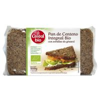 Whole bio rye bread with sunflower seeds - 500g- Buy Online at MOREmuscle