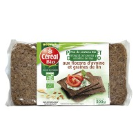 Rye bread with oat flakes - 500g