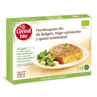Buckwheat and bulgur vegetable burger - 200g - Compre online em MASmusculo