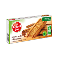 Spelled and cinnamon cookies - 125g - Céréal Bio