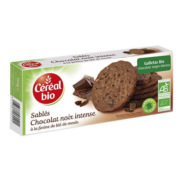 Wholemeal chocolate cookies - 132g