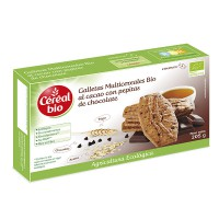 Galletas con pepitas de chocolate - 205g [cerealbio]