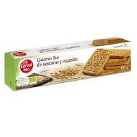 Wholegrain rice and coconut cookies - 130g - Céréal Bio
