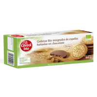 Chocolate spelled cookies - 100g - Céréal Bio