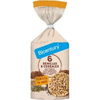 Corn pancake with seeds and cereals - 120g - Bicentury