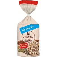 Rice pancakes with seeds and cereals - 112g - Bicentury