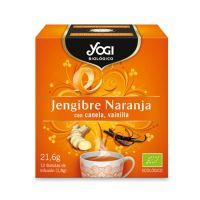 Orange ginger - 21,6 g - Yogi Organic