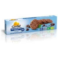 Cocoa and chocolate cookies sugar free - 130g - Gerblé