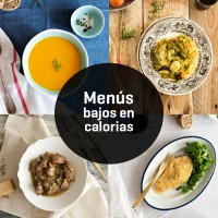 Low calories menu - MiPlato