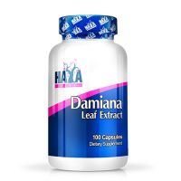 Damiana leaf extract - 100 caps - Haya Labs