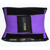 Fit abdominal sweat belt