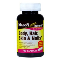 Body hair skin & nails - 60 caps- Buy Online at MOREmuscle