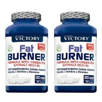 2 x 1 Fat Burner - 120 caps - Victory Weider