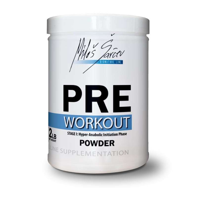 anabolic series pre workout lean revolution
