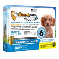 Vetguard plus for small dogs (vetiq) - 6 month supply - VetGuard Plus