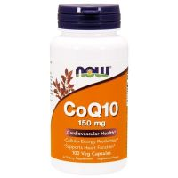 CoQ10 150mg - 100 cápsulas vegetales [now foods]