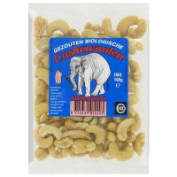 Salted cashew nut bio - 100g- Buy Online at MOREmuscle