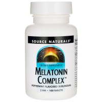 Melatonin complex sublingual 3mg - 100 tabs