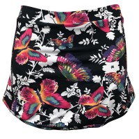 Black skirt with butterflies - Kaufe Online bei MOREmuscle