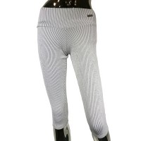 Legging pirate white with black stripes - Compre online em MASmusculo