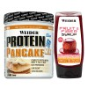 Pack protein pancake mix 600g + fruit & fiber syrup - 250ml