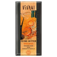 Dark chocolate with orange bio - 100g - Vivani