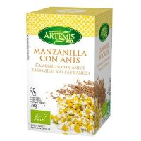 Manzanilla and anise infusion - 20 sachets - Compre online em MASmusculo