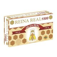 Royal jelly queen real - 1500 mg - 20 amp