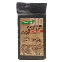 Coffee ground decaffeinated 100% arabic - 250g - Biocop