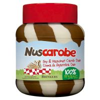 Carob cream duo nuscarobe - 400g - Biocop
