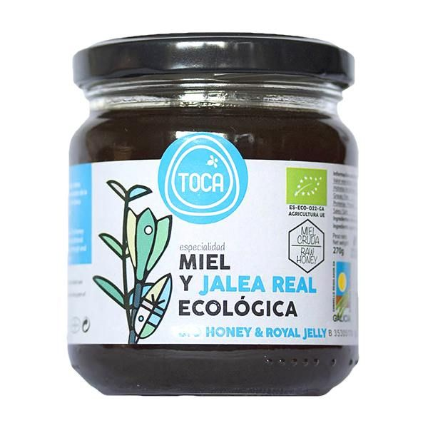 Honey with royal jelly toca - 270g