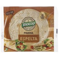 Spelled piadina - 225g - Kaufe Online bei MOREmuscle