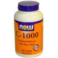 NOW C-1000 - 250 Tablets (vitamin C)- Buy Online at MOREmuscle