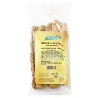 Snack spelled with sunflower and black sesame - 75g - Biocop