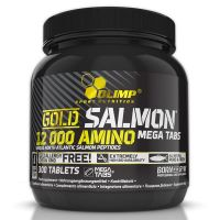 Gold Salmon 12000 Amino - 300 tabletas