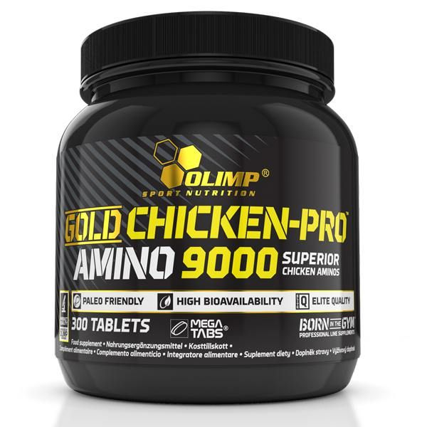 Gold chicken-pro amino 9000 - 300 tablets