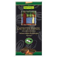 Chocolate tablet with almonds rapunzel - 80g