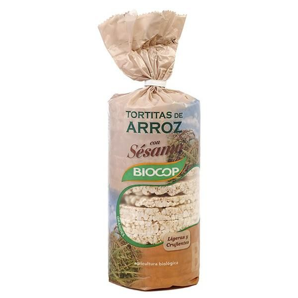Rice cakes with sesame - 200g