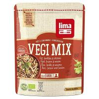 Vegi mix rice and lentil with sesame lima - 250g- Buy Online at MOREmuscle