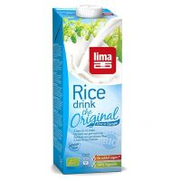 Bebida de arroz rice drink original lima - 1l