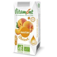 Apricot nectar vitamont - 6 x 20cl- Buy Online at MOREmuscle