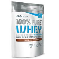 100% pure whey - 454g - Biotech USA