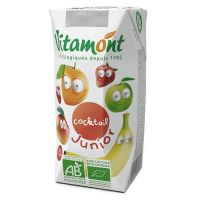 Juice cocktail junior vitamont - 6 x 20cl
